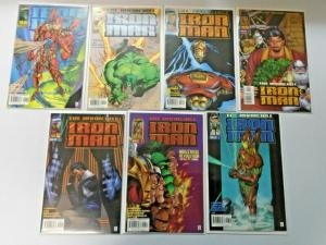 Invincible Iron Man set #1 to #13 2nd Series 13 different books NM (1996)
