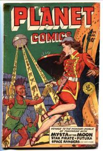 PLANET COMICS #59 1949-GOOD GIRL ART-INGLES-BAKER-EVANS VG-