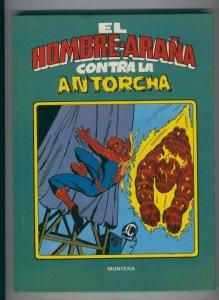 El Hombre araña contra la Antorcha