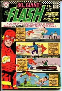 FLASH #160 GIANT JOHNNY QUICK BEATNIKS KID FLASH-1966 VG