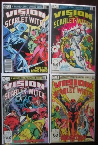Vision and The Scarlet Witch # 1 - 4 - 6.0 FN - 1982