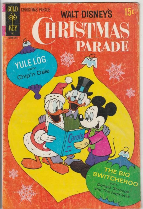 Walt Disney's Christmas Parade #9 (Jan-61) VG Affordable-Grade Scrooge McDuck...