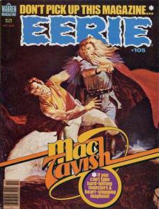 Eerie (1965 series) #105, NM- (Stock photo)
