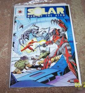 SOLAR MAN OF THE ATOM COMIC # 6 1992 PRE UNITY VALIANT  HOT key**