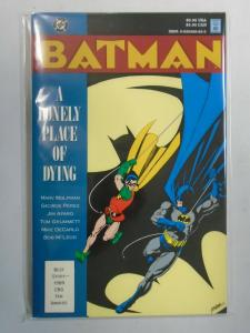 Batman a Lonely Place of Dying TPB (1990 1st Print) 7.0/FN