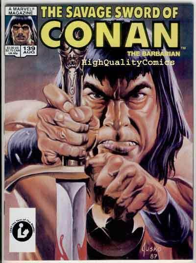 SAVAGE SWORD of CONAN #139, VF/NM, Kull ,Conqueror, Joe Jusko, more in store