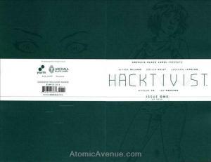 Hacktivist #1 VF/NM; Boom!   save on shipping - details inside