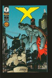 Dark Horse Comics X Hero Illustrated Special #1 June 1994