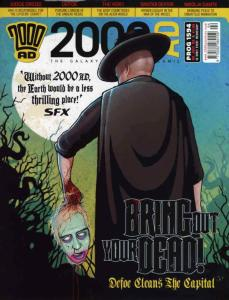 2000 A.D. #1594 VF/NM; Fleetway Quality | save on shipping - details inside