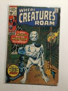 Where Creatures Roam 2 Good Gd 2.0 Marvel