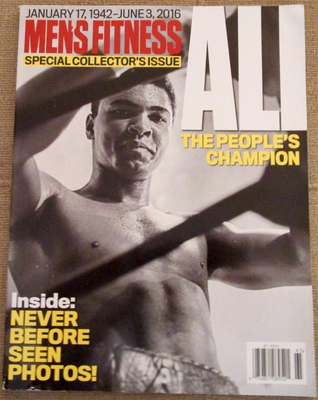 Men's Fitness Ali Collector's Issue
