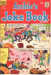 ARCHIES JOKE BOOK (1954-1982)118 VG-F ARCHIE BAND COVER COMICS BOOK