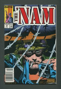 The Nam #30   / 9.6 NM+  - 9.8 NM-MT   / Newsstand / May 1989