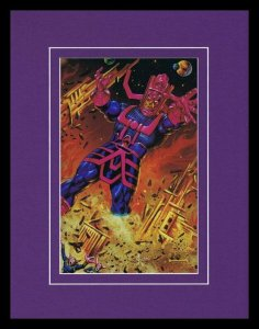 Galactus 1993 Framed 11x14 Marvel Masterpieces Poster Display