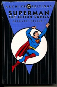 Superman: The Action Comics Archives 5 hardcover- sealed