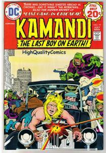 KAMANDI #19, VF/NM, Jack Kirby, Last Boy on Earth, 1972, more in store