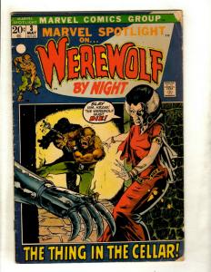 Marvel Spotlight # 3 VG Comic Book Feat. Werewolf By Night Appearance Ploog NP9
