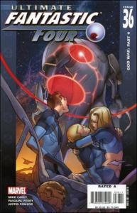 Marvel ULTIMATE FANTASTIC FOUR #36 VF