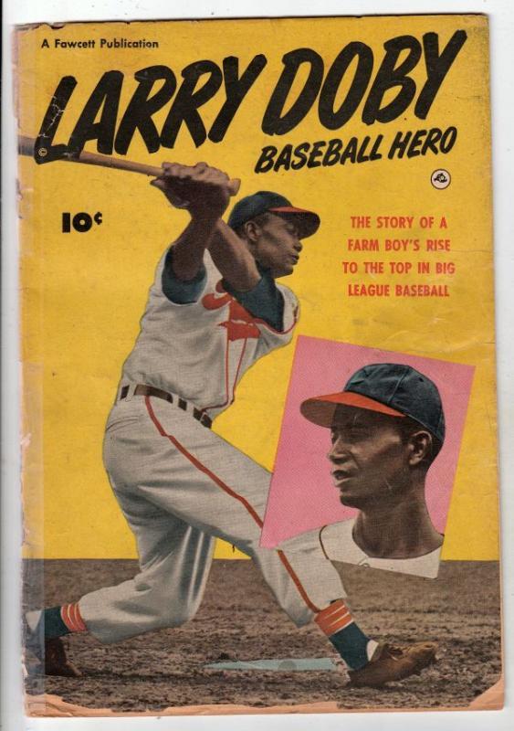 Larry Doby Baseball Hero #1 (Jan-50) FR/GD Low-Grade Larry Doby