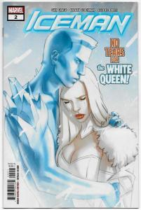 Iceman #2 White Queen (Marvel, 2018) NM