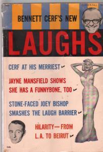 Bennett Cerf's New Laughs-Summer 1962-Jayne Mansfield-jokes-gags-humor-VG
