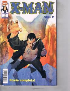 Lot Of 2 Marvel Comic Book X-Man #2 and Vendicatori JLA  AB7
