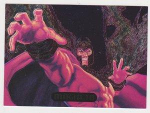1995 Flair Marvel Annual Powerblast Card #9 Magneto