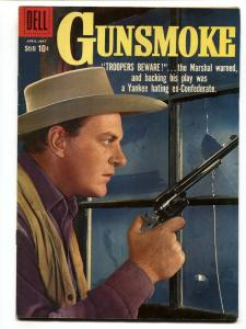 Gunsmoke #14 comic book 1959-Photo cover - James Arness Western Dell VF-