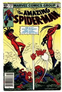 AMAZING SPIDER-MAN #233 comic book-1982-MARVEL NM-