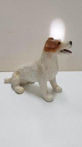 Figura de perro resina: Jack Russell Terrier de 7x9 cm