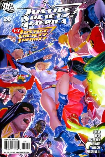 Justice Society of America (2007 series) #20, NM + (Stock photo)