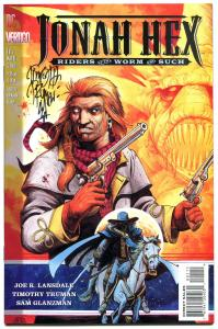 JONAH HEX #1, NM+, Riders of Worm and Such, Signed by Tim Truman, Vertigo, 1995