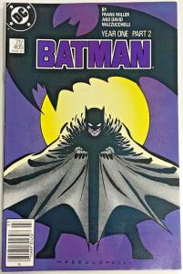 BATMAN#405 VF/NM 1987 FRANK MILLER YEAR ONE DC COMICS