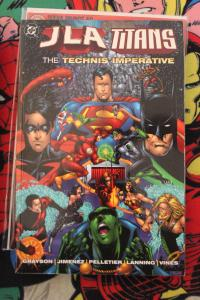 JLA/Titans: The Technis Imperative nn NM