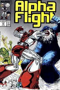 Alpha Flight (1983 series) #55, NM- (Stock photo)