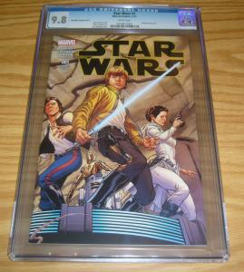 Star Wars #1 CGC 9.8 marvel comics - joe quesada variant (1:100) 2015 new
