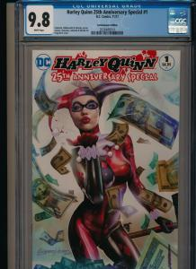 DC HARLEY QUINN 25TH ANNIVERSARY SPECIAL #1 ComicXposure Edition CGC 9.8 (RS)