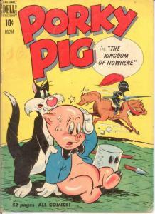 PORKY PIG (1942-1962 DELL) F.C. 284 GOOD 1950 COMICS BOOK