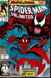 Spider-man Unlimited #1 - 9.2 or Better - Ron Lim and Jim Sanders Cover