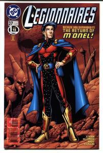 Legionnaires #37-MON-EL cover DC comic book 1996