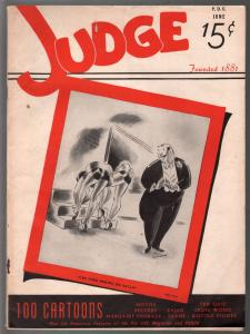 Judge 6/1941-jokes & cartoons-Donald Duck-pre WWII-VG-