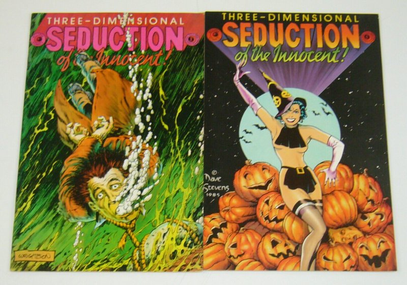 Seduction of the Innocent 3-D #1-2 complete series dave stevens/bernie wrightson