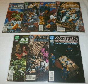 Aztek  : The Ultimate Man    vol. 1   #1,3-5,8-10 (set of 7)