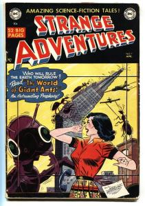 Strange Adventures #7 comic book 1951-DC-SC-FI Golden-Age