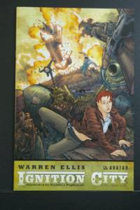 Ignition City by Warren Ellis #4 Auxilliary Limited Edition