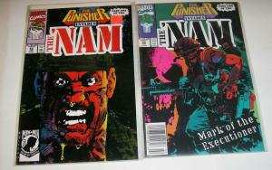 NAM 52(1st print)-53  The PUNISHER invades...