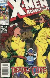 X-Men Adventures (1992 series) #10, NM- (Stock photo)