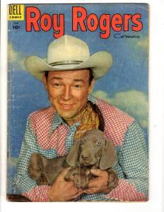 Roy Rogers Comics # 90 VG Dell Golden Age Comic Book Cowboy Western Photo JL10