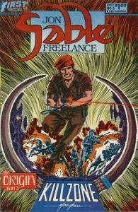 Jon Sable: Freelance #5, NM- (Stock photo)