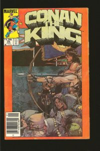Marvel Comics Conan The King Vol 1 No 26 January 1985